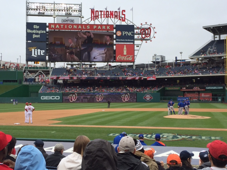 Nationals vs Mets, Taken by Jamie Luu