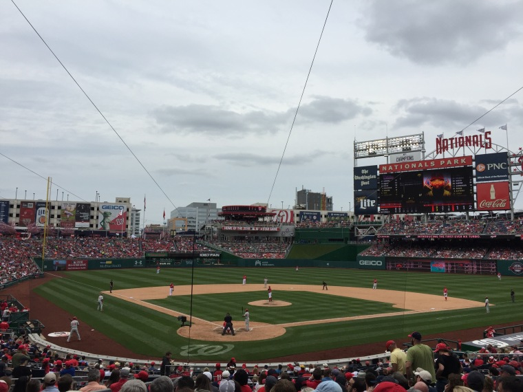 Nationals vs Phillies, Taken by Jamie Luu