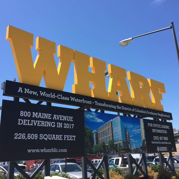 Sign at the Wharf, Taken by Jamie Luu